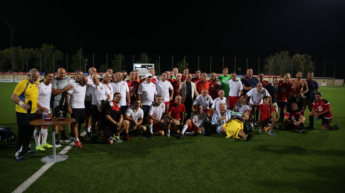 Il-logħba bejn Valletta F.C. u Manchester Reds Legends XI kienet ta' suċċess