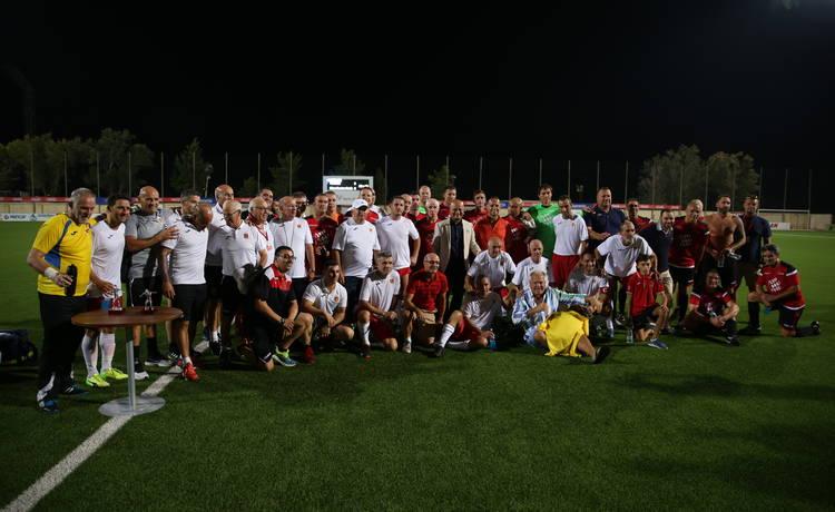 Exhibition match between Valletta F.C. and Manchester Reds Legends XI was a success