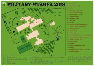 Military Mtarfa Venue Map