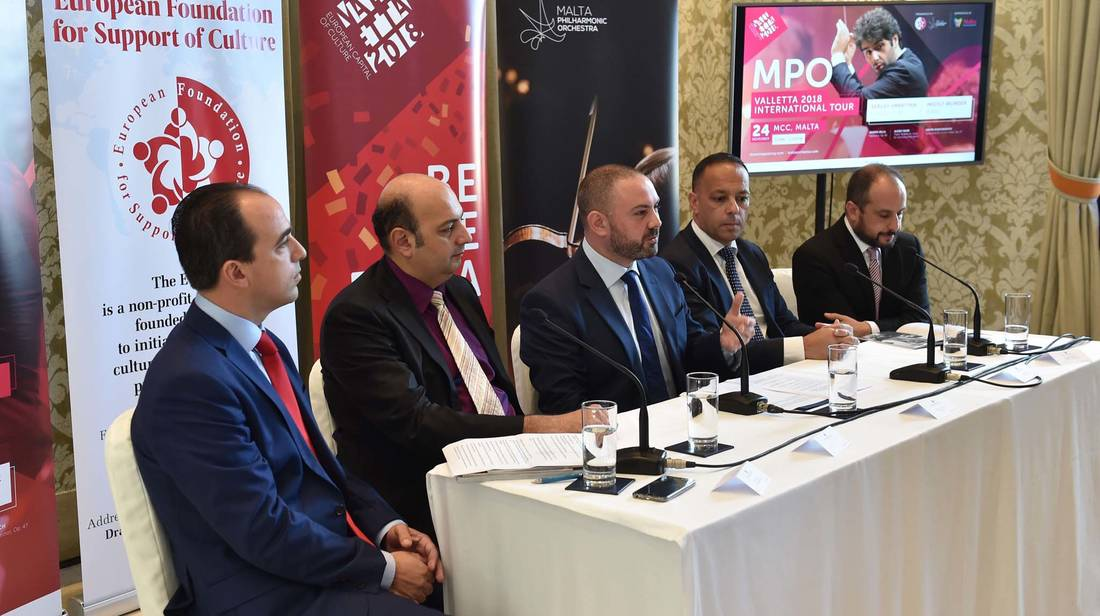MPO Valletta 2018 International Tour Kicks Off at the MCC this November