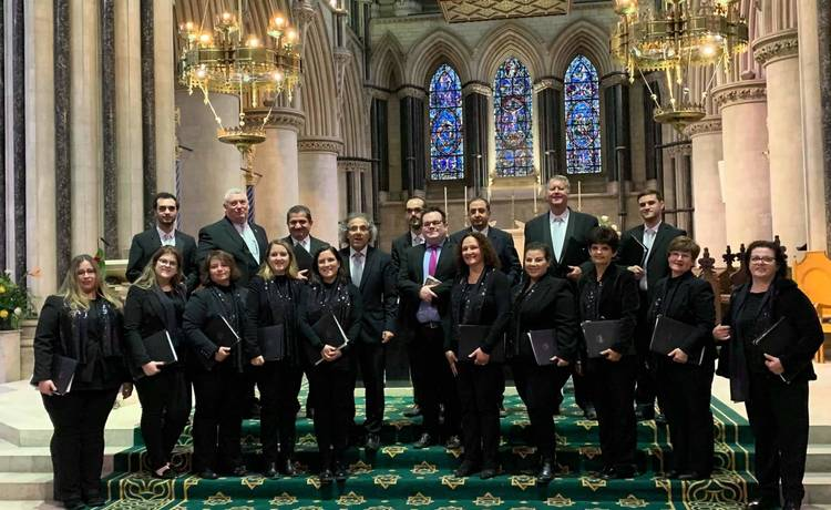 Gaulitanus Choir returns from East Anglia (UK) concert-tour